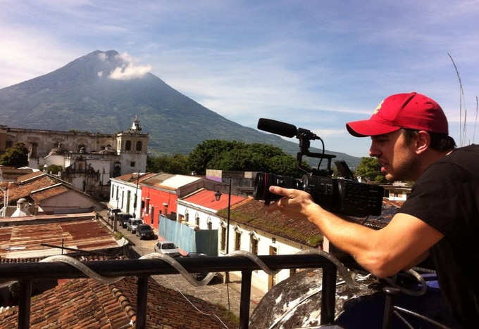Charles Leisenring, fellow Trojan and our Director of Photography, crushin' it in Guatemala!