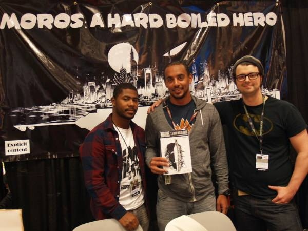Josh and his good friends, Branden and Agelo, at NYCC 2014!