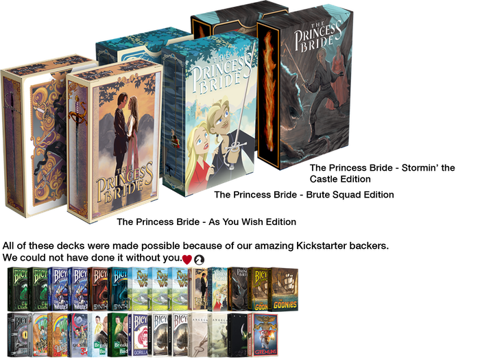 Inconceivable! An amazing new illustrative deck based on The Princess Bride movie. Status:DELIVERED