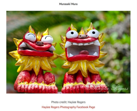 Click through to see all images we have used in previous Okinawa Hai calendars