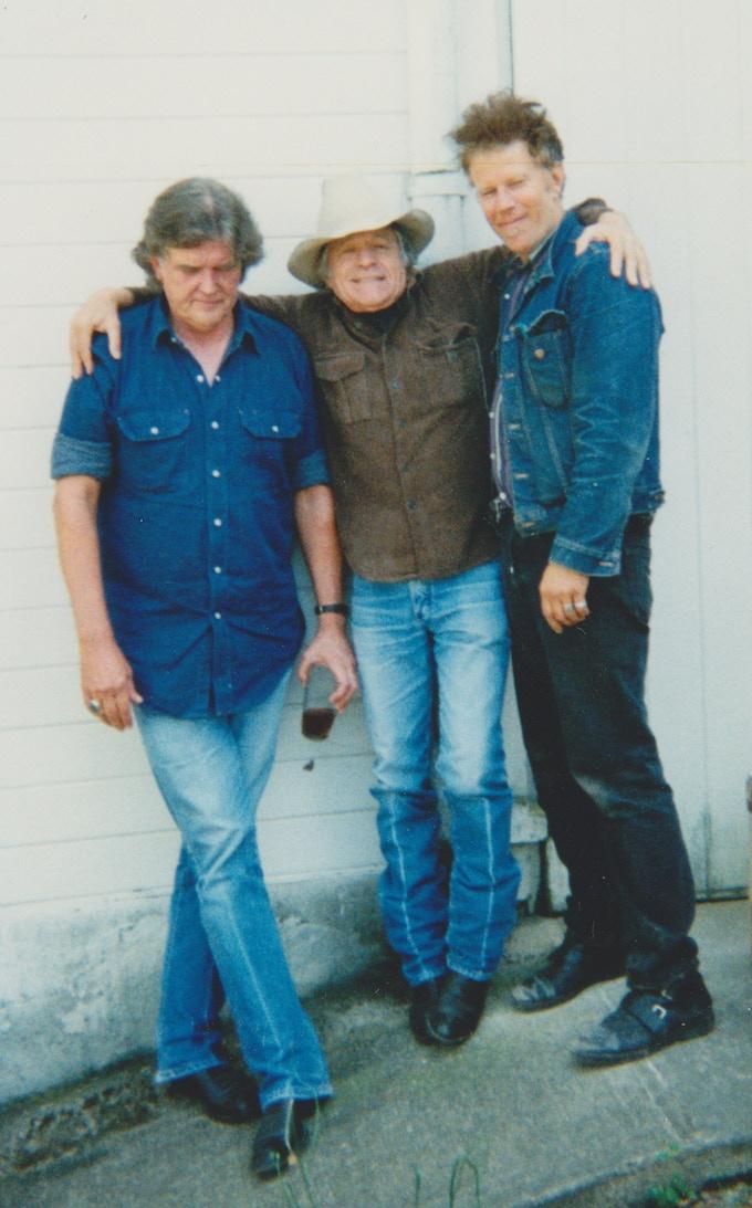 Guy, Ramblin' Jack Elliott and Tom Waits