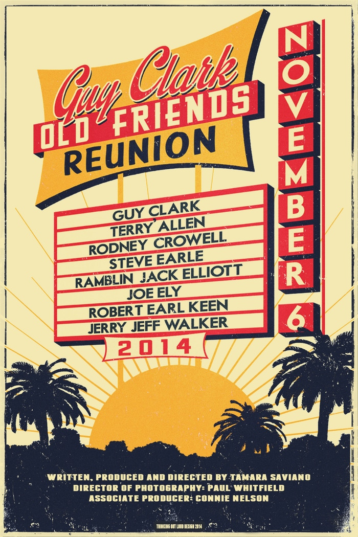 Old Friends Reunion Poster and Laminate VIP Pass