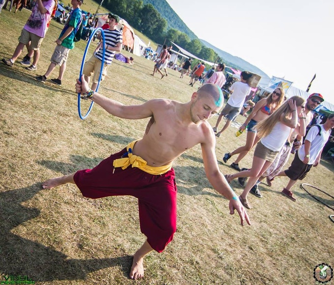 Avatar The Last Airbender Cosplay Flow Arts Peformance By