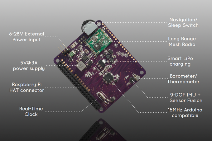 Ardhat: Smart Power, Robotics and IoT for Raspberry Pi by