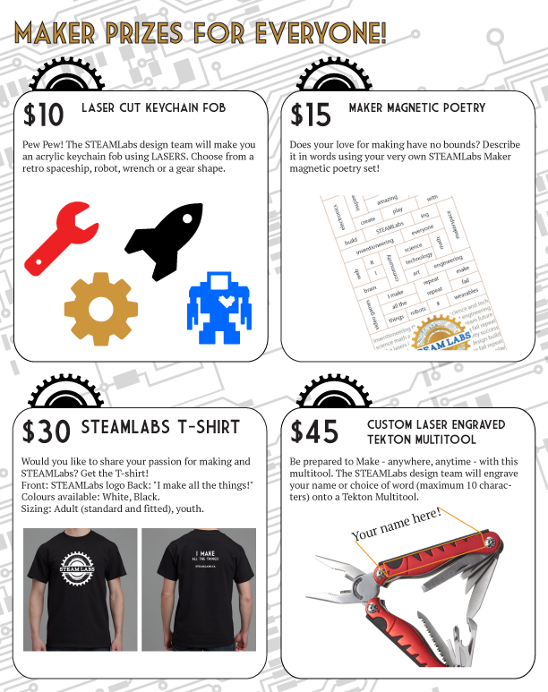 STEAMLabs community makerspace: Everyone can be a maker by