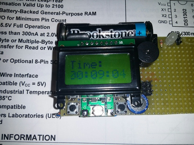 Prototype digital watch kit