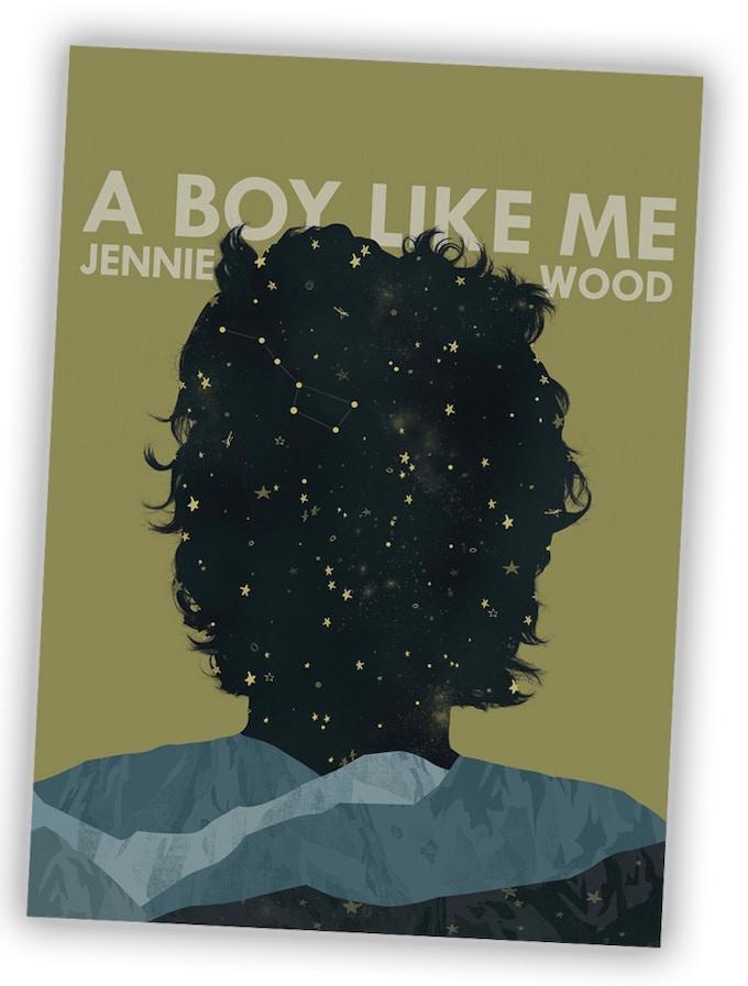 A BOY LIKE ME Cover art by Sarah Pruski