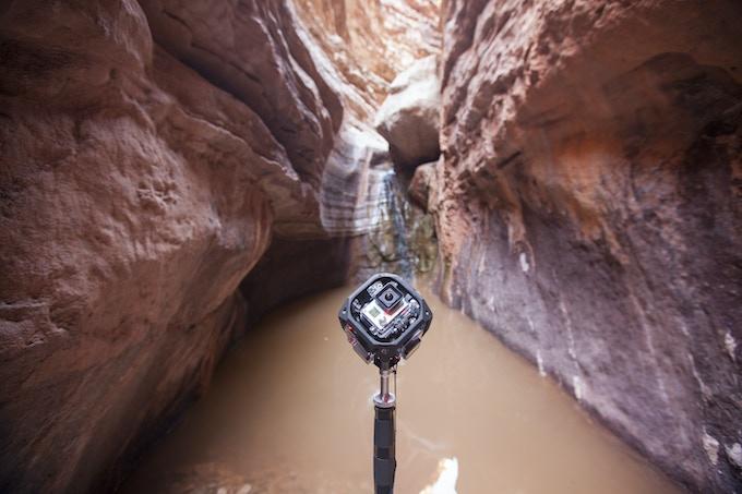 360 Labs' waterproof 360º GoPro array by partner Freedom360