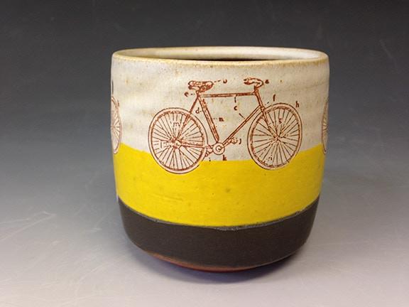 Stacy Snyder, Yellow Bike Yunomi $40