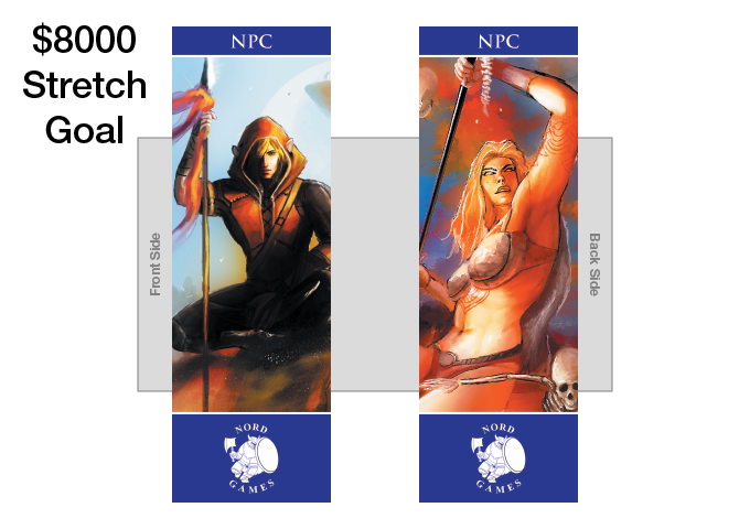 New NPC Bookmark with new Artwork and Navy Blue Border Added to GM Pack (UNLOCKED)