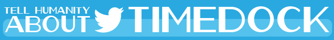 Click and tweet about TimeDock!