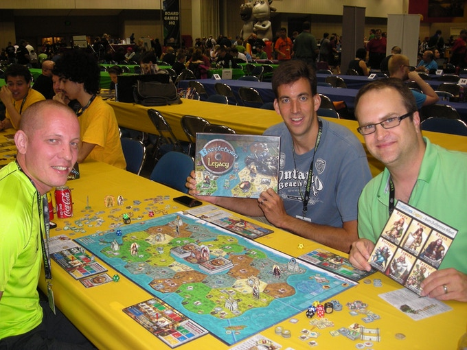 2014 Gencon, Players having fun!