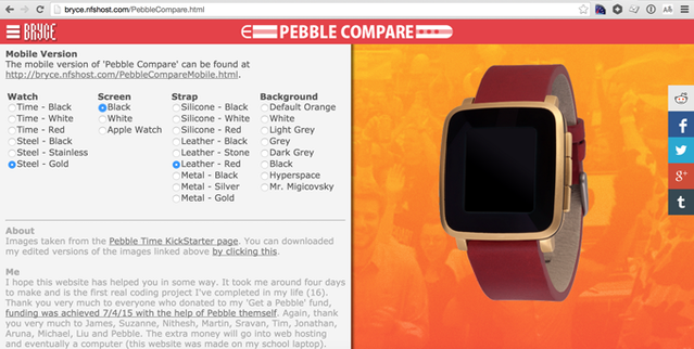 Pebble Time - Awesome Smartwatch, No Compromises by Pebble