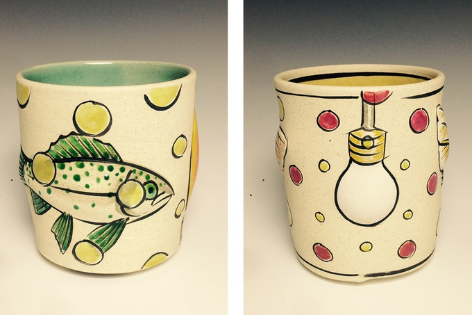 Jason Walker, Fish Cup $200, Light Bulb Cup $200
