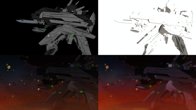 3D sequences of Starbreaker