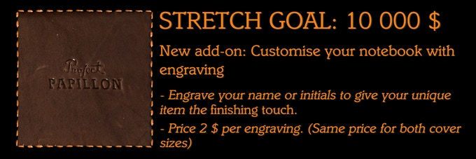 Backers request #4: Customization by engraving