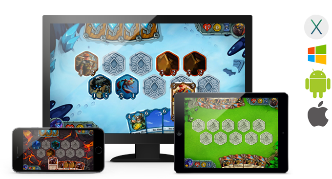 Epic Everything will be available on OS X, Windows, Android, and iOS, on all screen sizes.