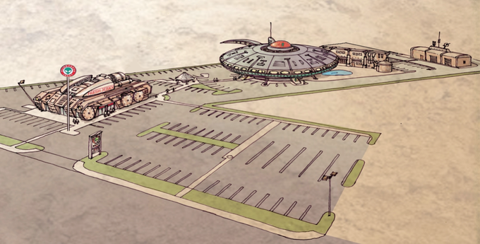 UFO Colony Concept