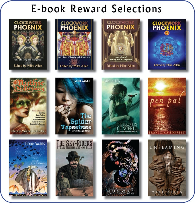 Titles available as ebook rewards.