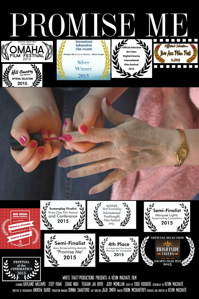 Poster with laurels & awards
