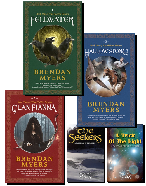 An urban fantasy fiction series, with the demigods of Percy Jackson, and the politics of Game of Thrones and House of Cards.