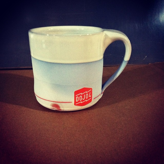 The Mug. Only with a red elephant logo.