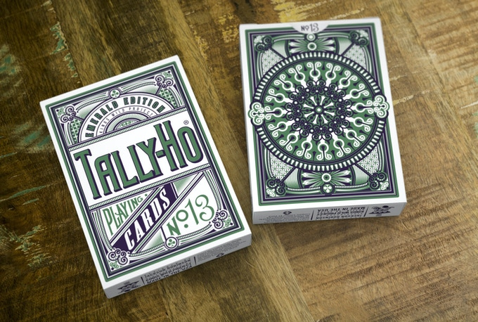 Emerald Tally Ho Display Deck