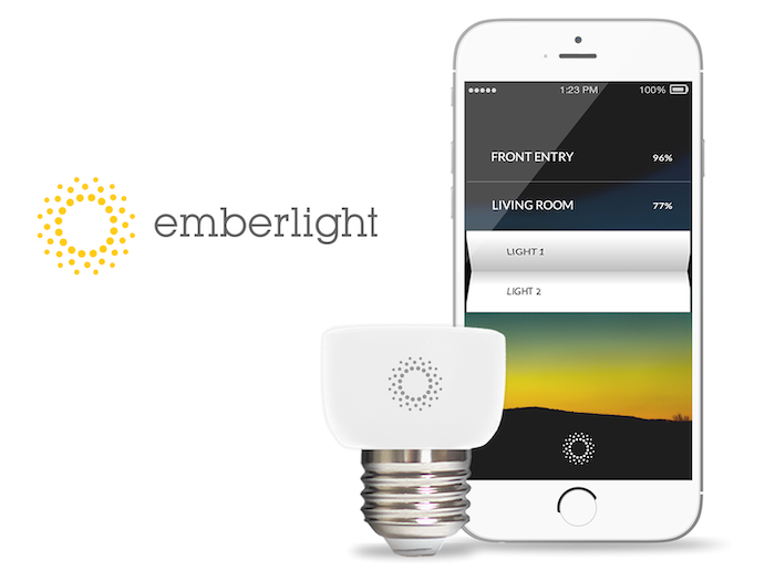 Mold your lights around your life. Control any dimmable bulb with your existing WiFi and phone.