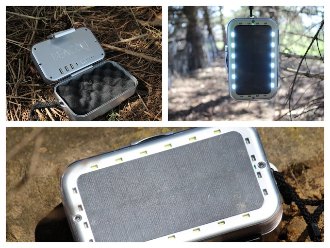 Signaling Beacon, Solar Power, Device Protection and Charging