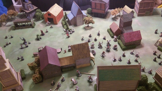 The Wardens and Adventurers of Ethalia Fend off the hordes of Were-Kin!
