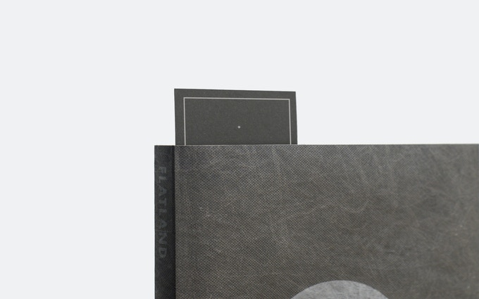 Every book in the Kickstarter run comes with a letter pressed bookmark