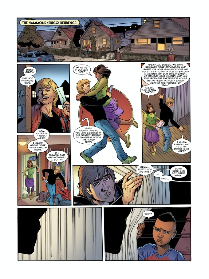 Pages from Molly Danger :Book One