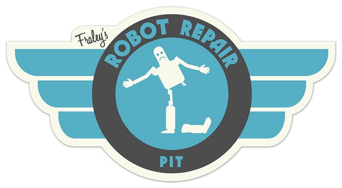 The logo for the Airport Robot Repair Shop