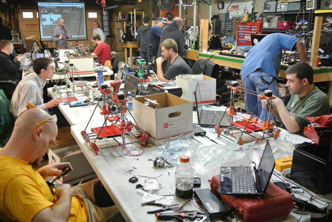 LVL1 Hackerspace in Louisville