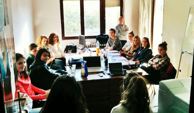 Girls Coding Kosova community
