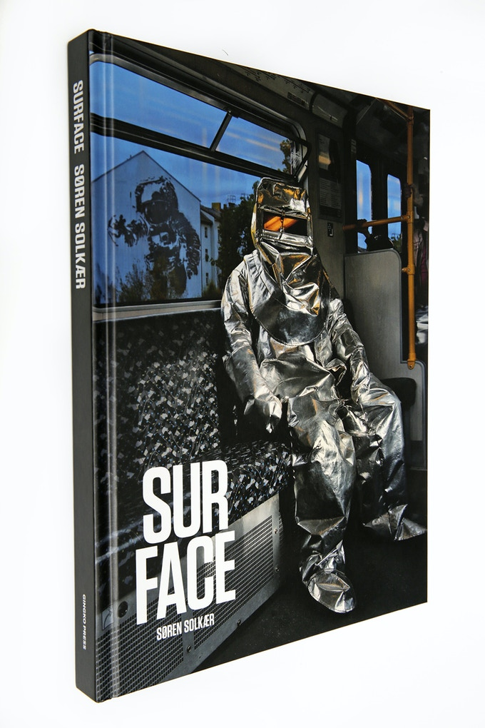 SURFACE-photobook signed by Søren Solkær (240 pages hard cover coffee table book with portraits of 135 artists)