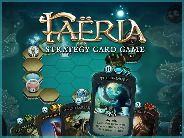 Tradable cards meet board games and strategy in a fresh experience: shape the battlefield, collect resources and destroy your opponent!