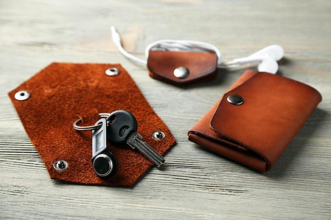 Pictured: Key fold, Headphone Case and Bordo mini