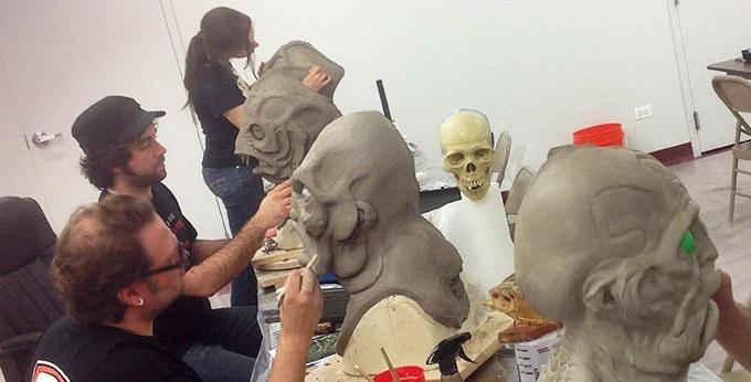 ANTHONY & the Kosart Studios artists making Deep Ones