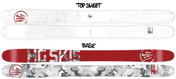 The New El ski from HG Skis