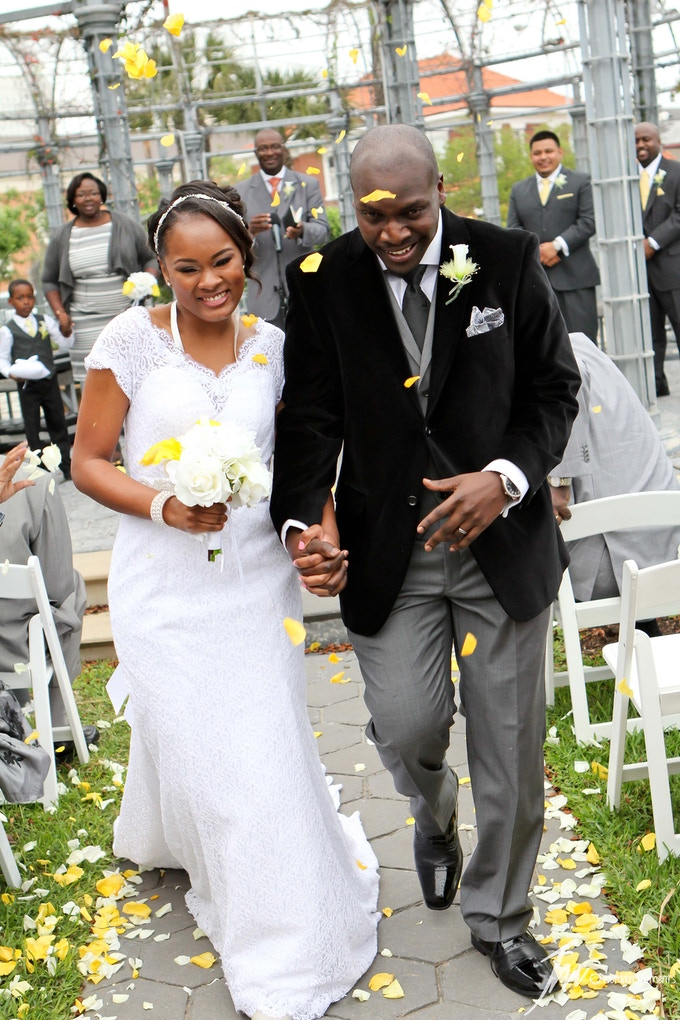 Wedding pictures are one of the many services Jordan Moments L.L.C. offers