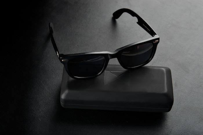 584751619ac0 William Painter s Aerospace Grade Titanium sunglasses with next generation  polarized lenses and a built in bottle