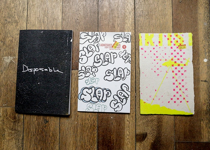 Con Artist Zines Package