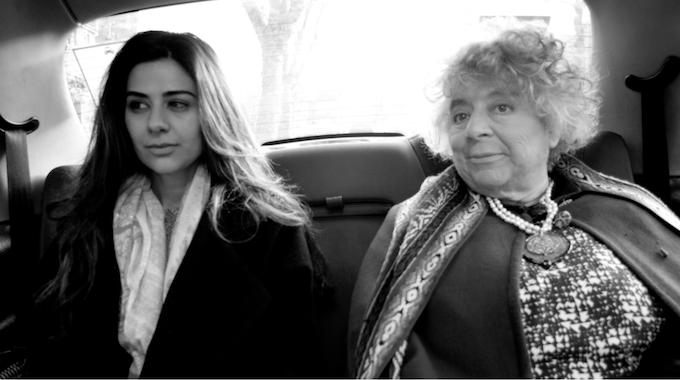 Lara (Jumaan Short) and Maria (Miriam Margolyes)