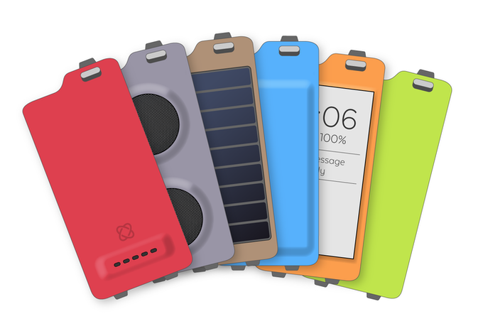 The First Active Backplates. These are early concepts. Final designs are subject to minor alterations.