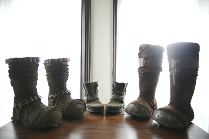 Our Dwarven Boots vs. A Men's 13 US.