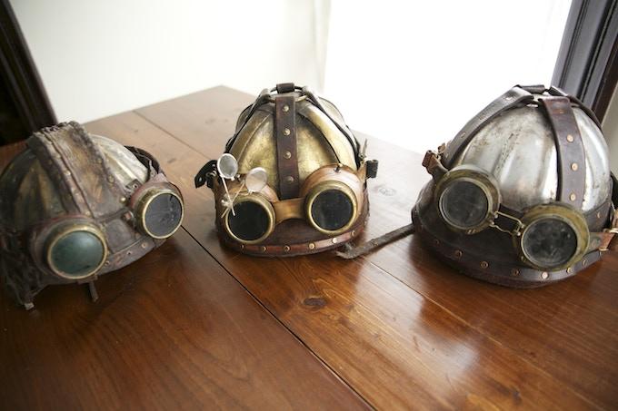 Brenn, Calcas, & Odryd's Helmets