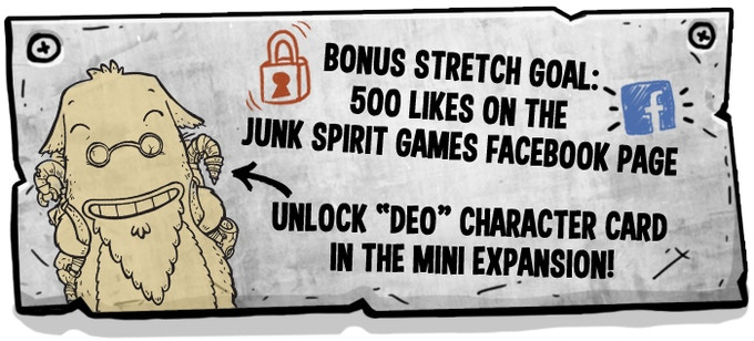 Like Junk Spirit Games on Facebook to hit this Stretch Goal!