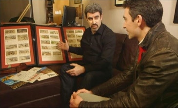 Director Henry Coleman on The ONE Show (BBC) discussing the Zulu storyboards.