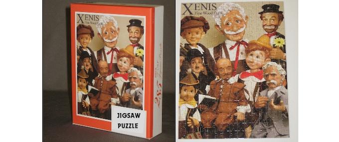 """285 piece Custom Jigsaw Puzzle - finished size 12"""" x 16"""""""